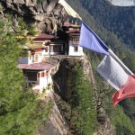 Situated at an altitude of 3120 meters above sea level Tiger's Nest monastery