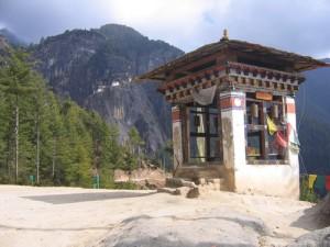 Nest of Tigress monastery in Bhutan