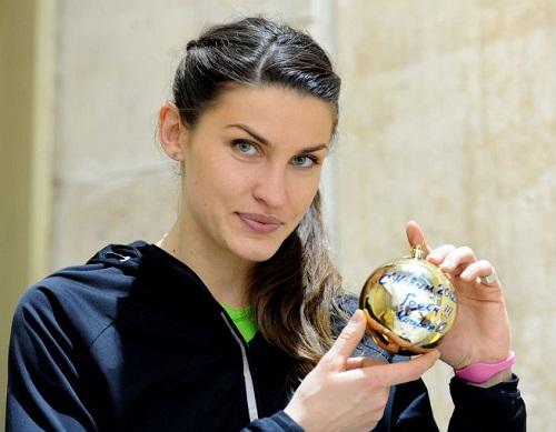 Beautiful Anna Chicherova Russian leading high jumper