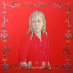 Red Painting by Salustiano Garcia Cruz