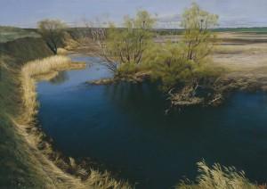Realistic painting by Russian artist Yuri Arsenyuk