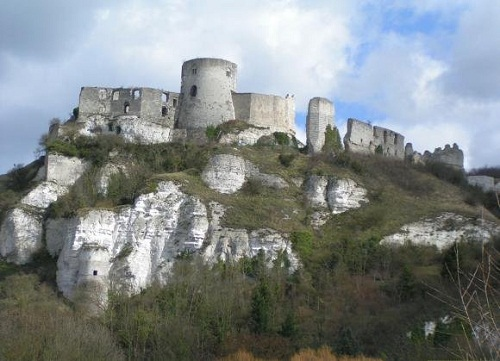 Walls of a Medieval castle