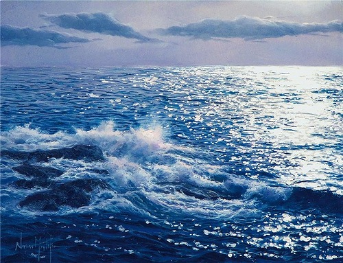 Hyperrealistic seascapes by Alfredo Navarro