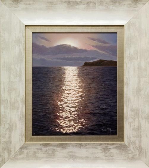 Hyperrealistic seascapes by Spanish artist Alfredo Navarro Montllor