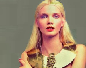 Supermodel Daria Zhemkova