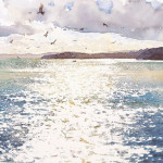 Painting by English watercolourist Richard Thorn