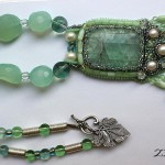 "Jewelry collection ""My Dreams"" by Russian bead artist and jeweler Zenera"
