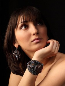 """Jewelry collection """"My Dreams"""" by Russian bead artist and jeweler Zenera"""