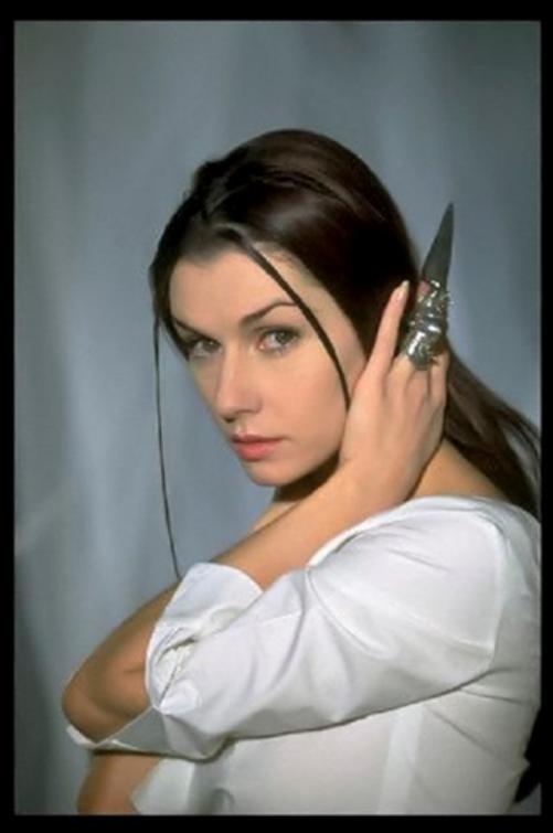 French operatic coloratura soprano Emma Shapplin