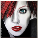 Charm and beauty in female portraits by Italian artist Cinzia Pellin