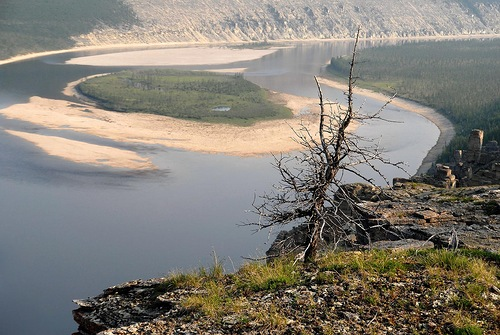Curves of the Siberian river Olenyok