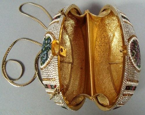 Luxury handbag by Judith Leiber