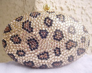 Stunning Faberge style handbag by Judith Leiber