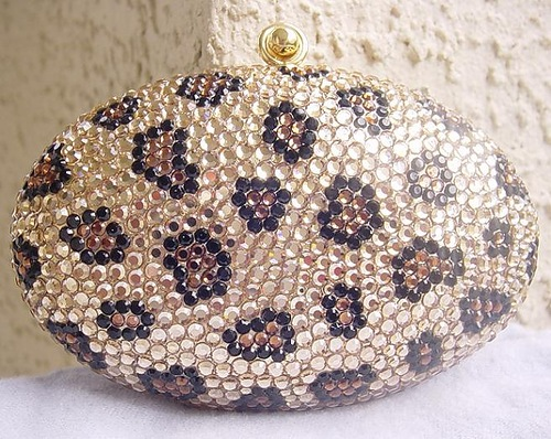 Stunning Faberge style handbag by Judith Leiber