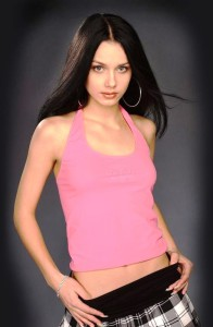 "Beautiful girl Anastasia Yagaylova, winner of Russian TV reality show ""Big Brother"" in 2005"