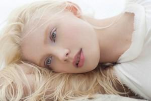 photo by Paul de Luna. Russian model Daria Zhemkova