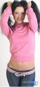 Khabarovsk based model Anastasia Yagaylova