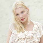 Blank Magazine, photo by Paul de Luna. Blonde beauty Russian model Daria Zhemkova
