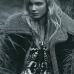 Fashion model Daria Zhemkova