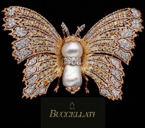Beautiful Lace jewelry and virtuoso engraving is a distinctive Buccellati style
