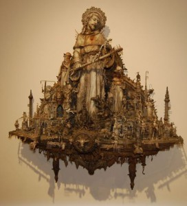 Apocalyptic philosophy in Kris Kuksi's sculpture