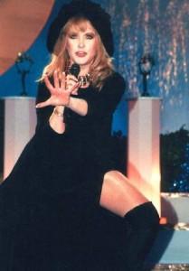 Performing Alla Pugacheva