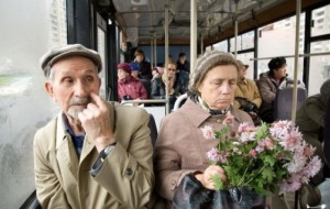 Don't overlook the elderly on public transportation