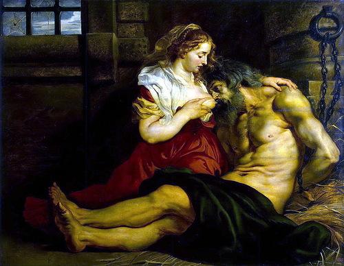Peter Paul Rubens – Roman Charity