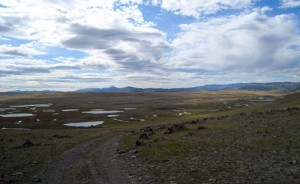 The bural place in Altai