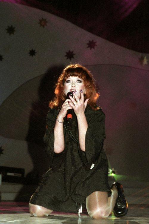 On the stage. Alla Pugacheva