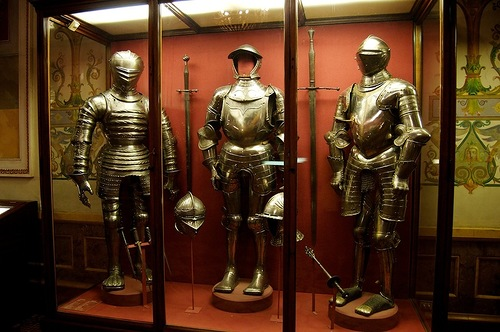 figures of knights