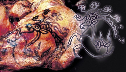 Siberian Princess reveals her 2500 year old tattoos