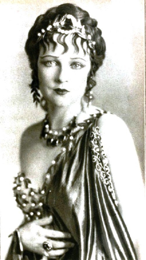 Jacqueline Logan silent movie star