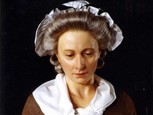 Madame Tussaud (Marie Grosholtz) (1761 - 1850) (ca. 1800)