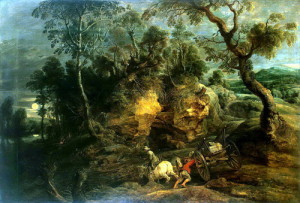 Rubens, Peter Paul – The drivers of stones