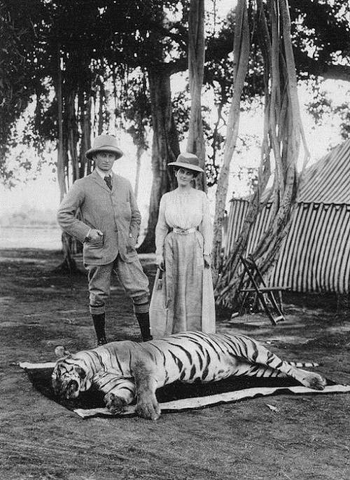 1903 Lord Curzon Viceroy of India and Lady Curzon