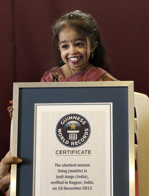 Jyoti Amge the worlds tiniest woman