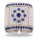 Dentelle de Perles Bracelet. Les Saisons Russes Faberge style jewelry