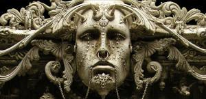 Apocalyptic philosophy in Kris Kuksi sculpture
