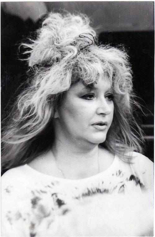 Early 1990s. Alla Pugacheva