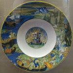 Plate. Abduction of Helen Nicola da Urbino
