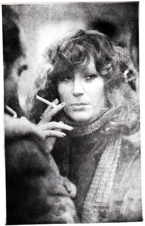 Smoking Alla Pugacheva