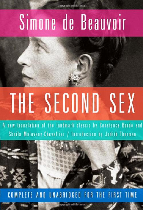 "Simone de Beauvoir published her book ""The Second Sex,"""