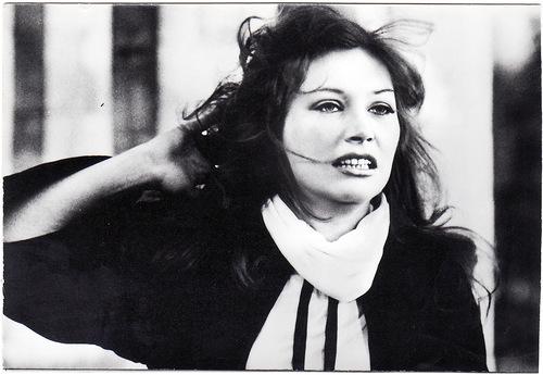 "Soviet film of 1978 ""Woman who is singing"". Alla Pugacheva"
