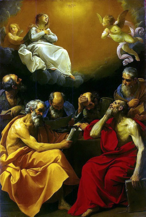Guido Reni – The argument of the Church Fathers of the Christian dogma of the Immaculate Conception