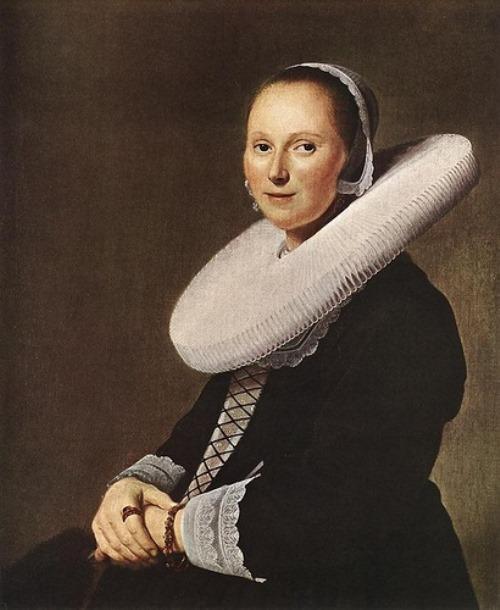 Johannes Cornelisz. Verspronck – Portrait of a Woman