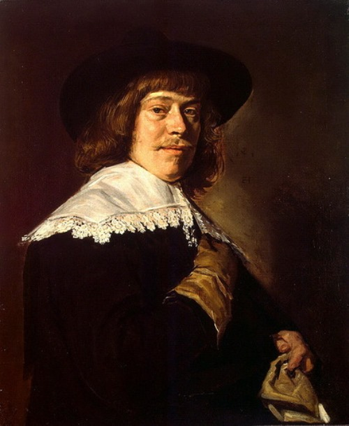 Frans Hals – Portrait of a young man with a glove in his hand