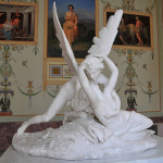 Kiss of Cupid and Psiche. Antonio Canova