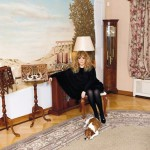 At home, Alla Pugacheva