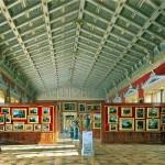 Luigi Premazzi. Vidy halls of the New Hermitage. Hall of the Dutch and Flemish schools 1858